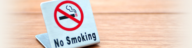 喫煙のご確認